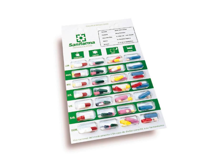 Organizador de medicacion semanal
