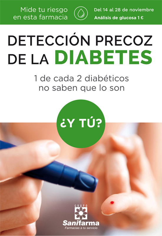 Sanifarma cartel diabetes 2016